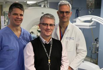 Dr. Geoff Porter, Brian Martell and Dr. Rob Berry