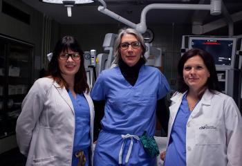 Dr. Karla Willows, Gynecologic Oncologist and Cancer Surgeon, QEII Health Sciences Centre, Dr Katharina Kieser, Chief of Gynecology-Oncology, QEII Health Sciences Centre and Dr. Stephanie Scott, Gynecologic Oncologist and Cancer Surgeon,QEII Health Sciences Centre
