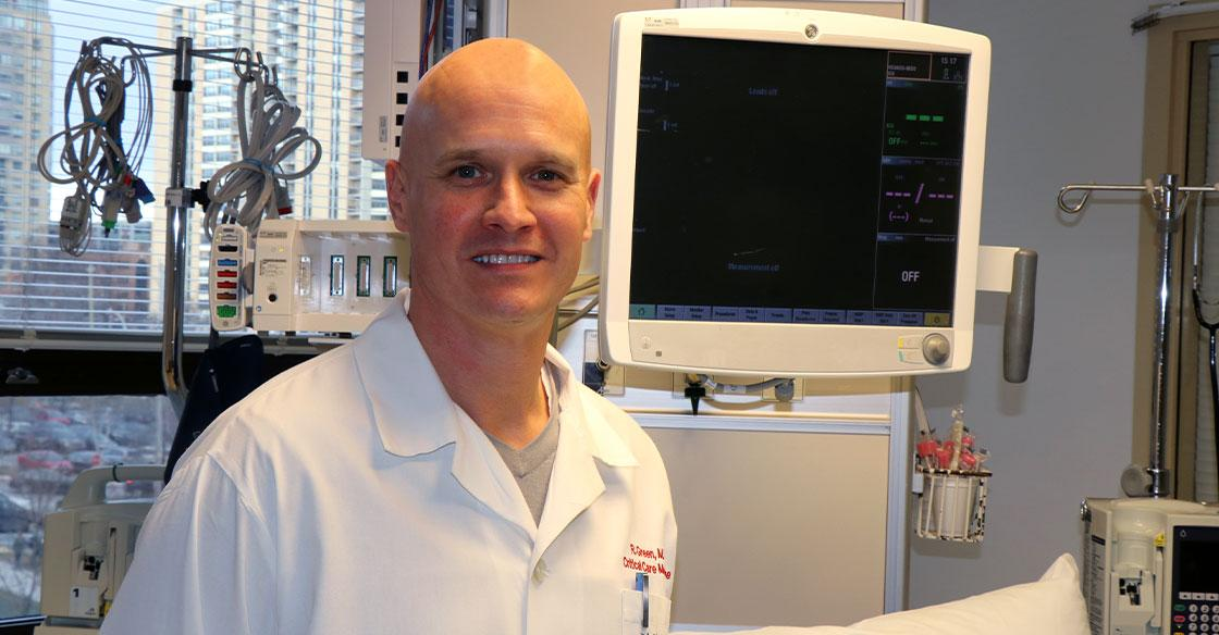 Dr. Robert Green, medical director of Trauma Nova Scotia and QEII critical care physician, is focused on finding ways to not only help every trauma patient, but also those in need of a life-saving organ donation.