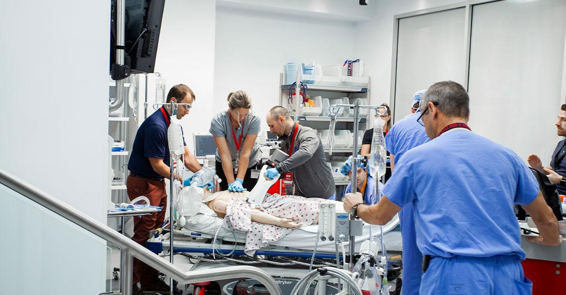 Funded entirely by the QEII Foundation and its many donors, the QEII Health Sciences Centre recently opened its doors to a $1.8-million, state-of-the-art Simulation Bay where medical teams practise their skills in a low-stress, no-risk environment