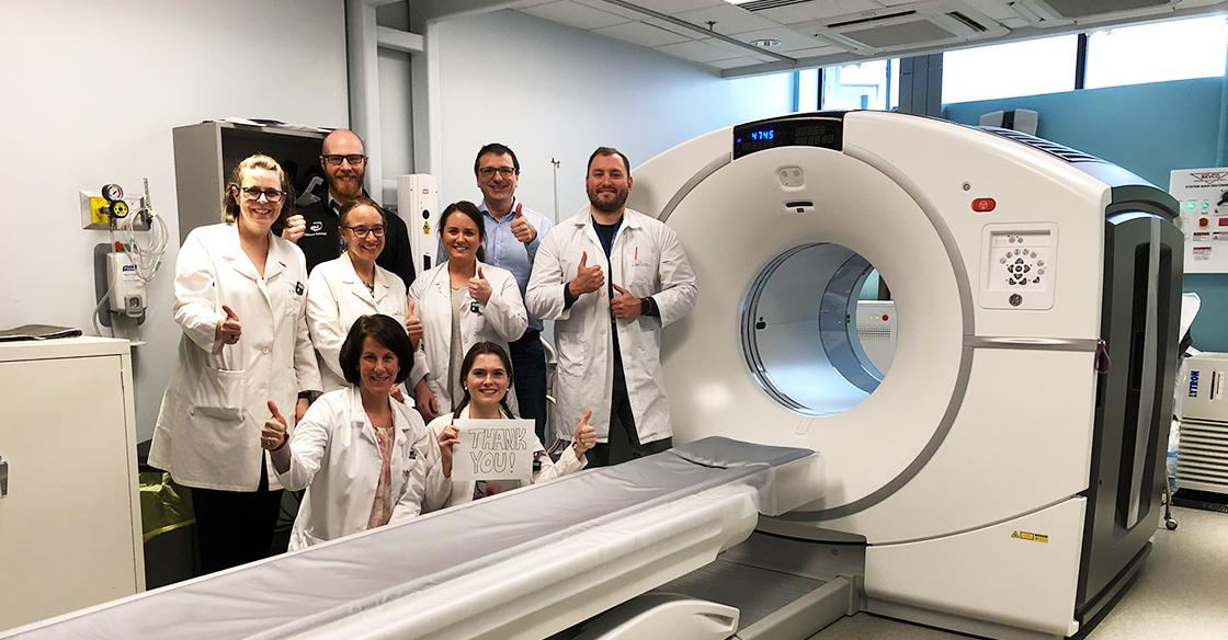PET-CT team QEII