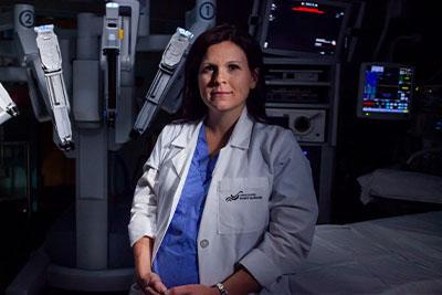 Dr. Stephanie Scott, Gynecological Oncologist and Cancer Surgeon