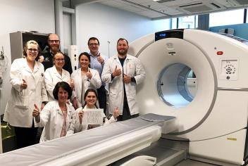 Triple match met: More than $150,000 raised by the community and QEII radiologists to fund best-in-class PET-CT